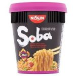 Nissin Foods Soba Cup instant tészta leves Thai curry - 87g